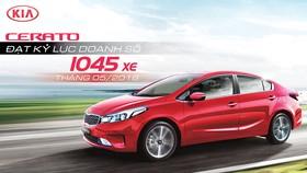 Kia Cerato lập kỷ lục doanh số,  bán hơn 1.000 xe trong tháng 5-2018