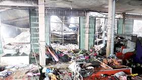 Hỏa hoạn thiêu rụi chợ trung tâm Sóc Sơn
