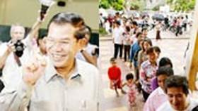 8,3 triệu cử tri Campuchia đi bầu cử Quốc hội