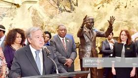 Khánh thành tượng Nelson Mandela tại trụ sở LHQ