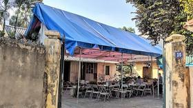 Ngôi nhà nơi đồng chí Đỗ Mười sinh ra và lớn lên đang được chuẩn bị cho Lễ an táng