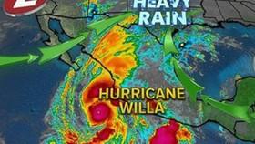 Mexico: Hàng ngàn người tránh bão Willa