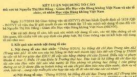 Giám đốc Học viện Hàng không Việt Nam làm thất thoát hơn 3 tỷ đồng