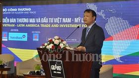 Thứ trưởng Đỗ Thắng Hải phát biểu khai mạc