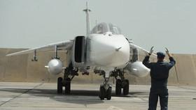 Máy bay Su-24M tại căn cứ Khabarovsk.  Nguồn : Sputnik