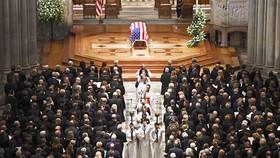 """Lễ tang cố Tổng thống """"Bush cha"""" ở Nhà thờ quốc gia, Washington DC., ngày 5-12-2018"""