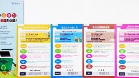 Hàn Quốc phát hành tài liệu hướng dẫn phân loại rác bằng 4 thứ tiếng