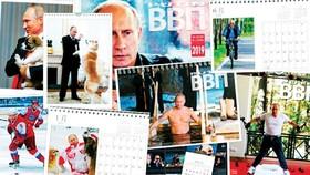Lịch in hình Tổng thống Putin cháy hàng ở Nhật