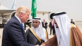 Đây là chuyến công du nước ngoài đầu tiên của ông Trump trên cương vị Tổng thống Mỹ. Ảnh: Reuters