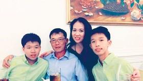 Gia đình chị Ngọc Vân