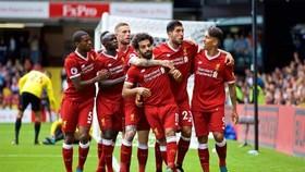 Liverpool trong trận thắng Watford 5 - 0