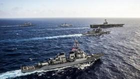 Hải quân Mỹ tập trận đa quốc gia