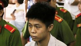 Bị cáo Nguyễn Hữu Tình tại phiên tòa. Ảnh: TTXVN
