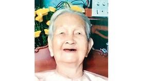 Bà mẹ Việt Nam anh hùng Nguyễn Thị Cánh từ trần