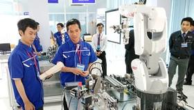 Xưởng thực hành robot tại Khu Công nghệ cao TPHCM