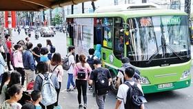 Thẻ đi xe buýt tích hợp tính năng thanh toán