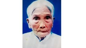 Mẹ Việt Nam anh hùng Trương Thị Thưa từ trần
