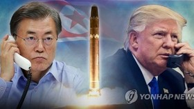 S. Korea, U.S. not discussing naval blockade against N. Korea: Cheong Wa Dae