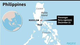 Scores missing as ferry capsizes off Philippines