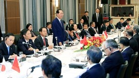 Vietnam rolls out carpet for Japanese investment: President