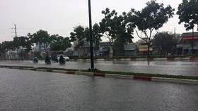 Central highlands region experiences rains throughout day