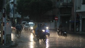 Northern region sees rains, strong winds