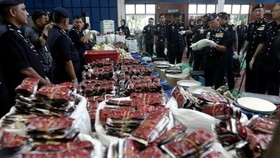 alaysian police seize large amount of drug (Source: thestar.com.my)