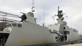 Frigate 015-Tran Hung Dao (Photo: VNA)