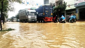 Binh Dinh province damaged seriously by heavy downpours