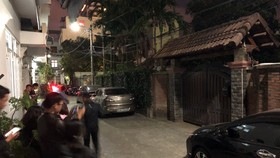Nhà ông Trần Văn Minh tại Đà Nẵng. Ảnh: NGUYÊN KHÔI