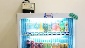 Máy bán nước tự động của Ngô Kim Thuận