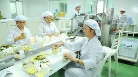 Sản xuất tại Công ty TNHH MTV dược Sài Gòn. Ảnh: CAO THĂNG