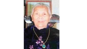 Bà mẹ Việt Nam anh hùng TRẦN THỊ CHẮN