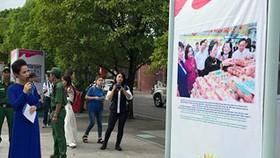 Khai mạc triển lãm ảnh kỷ niệm 70 năm ngày Chủ tịch Hồ Chí Minh ra lời kêu gọi thi đua ái quốc