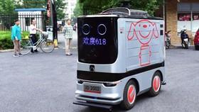 Dịch vụ giao hàng bằng robot