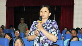 Đại biểu HĐND TPHCM tiếp xúc cử tri