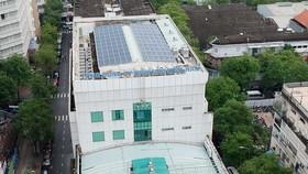 Sản xuất điện sạch từ mái nhà