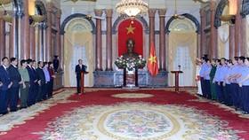 Chủ tịch nước trao quyết định bổ nhiệm 2 Phó Viện trưởng Viện Kiểm sát nhân dân tối cao
