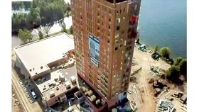 Tòa tháp bằng gỗ cao nhất thế giới