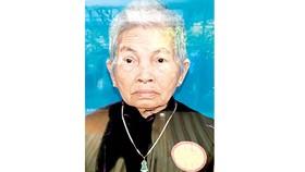 Bà mẹ Việt Nam anh hùng TRẦN THỊ LIÊN