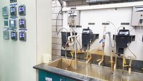 Phòng thí nghiệm chất lượng nước của Sawaco được công nhận đạt chuẩn