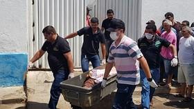 Cướp ngân hàng táo tợn tại Brazil