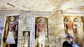 Ai Cập phát hiện mộ cổ 4.400 năm tuổi