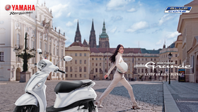 Yamaha Grande mới ra mắt - công nghệ hybrid