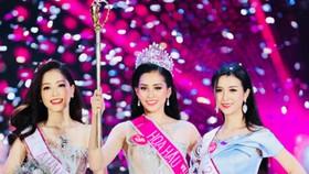 Người đẹp Trần Tiểu Vy  đăng quang Hoa hậu  Việt Nam 2018
