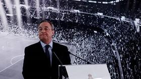 Chủ tịch Florentino Perez khẳng định Real không ngại chi tiền cho bom tấn.