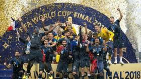 Tuyển Pháp đ0ăng quang ở World Cup 2018
