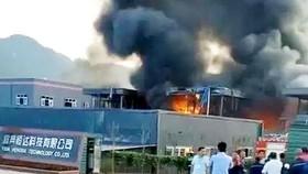 Nổ tại nhà máy hóa chất ở Trung Quốc, 31 người thương vong