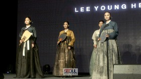 Trang phục truyền thống Hanbok. Ảnh: Seoul Rhythms