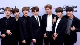 Ban nhạc BTS gồm 7 chàng trai. Ảnh: UPI